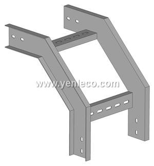Cable ladder Vertical outside riser / bend / elbow outside rail type